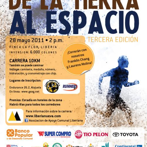 Carrera de la tierra al Espacio III Edición.