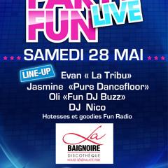 PROMO MAI 2011-PARTY FUN LIVE LA BAIGNOIRE