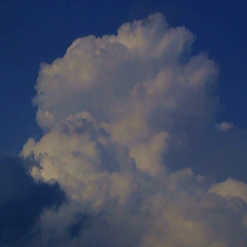 Clouds float on Forever