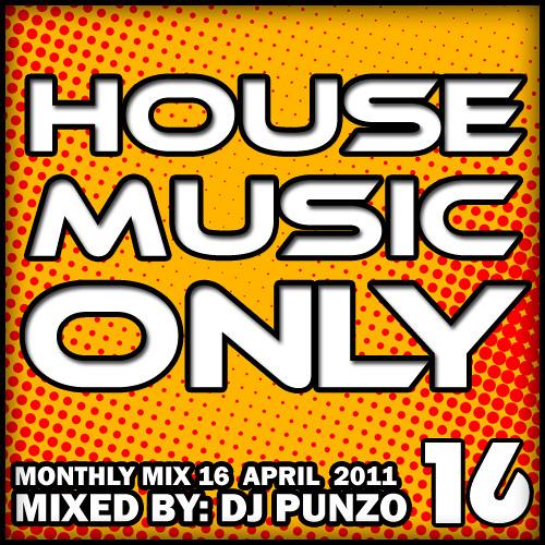 DJ Punzo - Monthly Mix 16 - April 2011