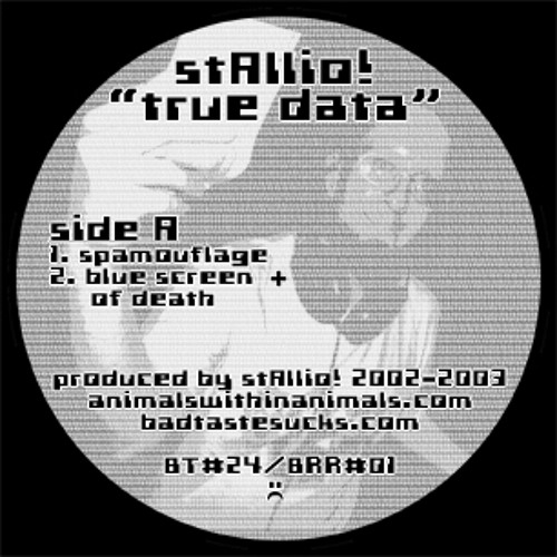 "stAllio! - true data 12"""