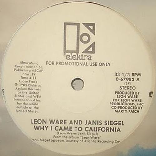Leon Ware - Why I Came To California (Kon Remix)