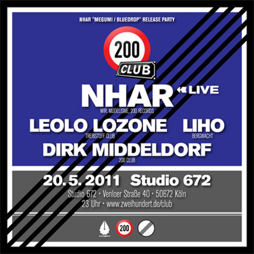 Nhar Live @ 200 Club, Studio 672, Cologne