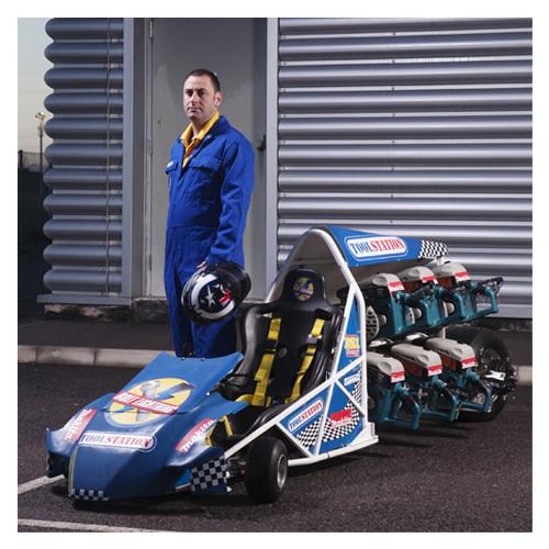 Powertool Drag-Racer