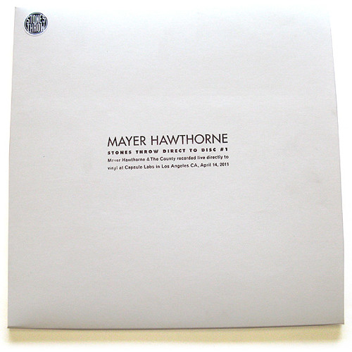 Mayer Hawthorne - Maybe So/Gangsta Luv (Live at Direct to Disc #1)