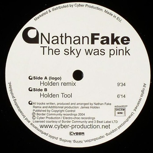 The Sky Was Pink [James Holden Remix]