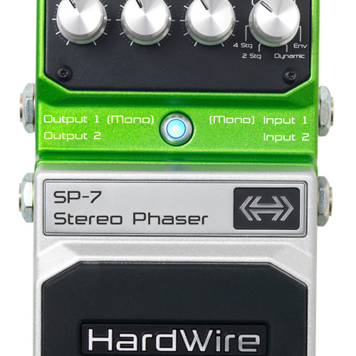 HardWire SP-7 Stereo Phaser Demo
