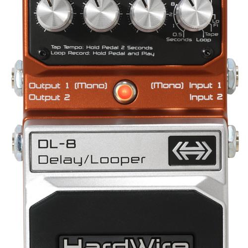 HardWire DL-8 Delay/Looper Demo