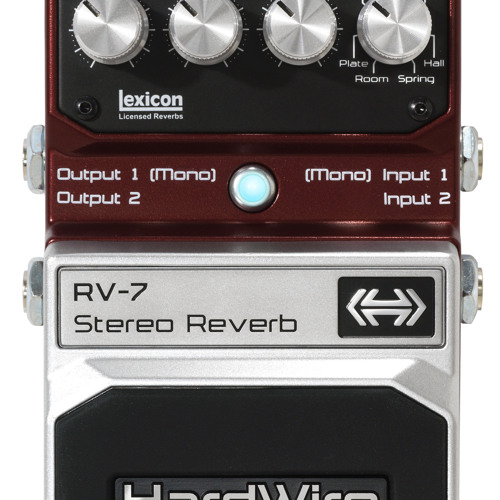 HardWire RV-7 Stereo Reverb Demo
