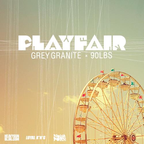 Grey Granite x 90LBS - PLAYFAIR