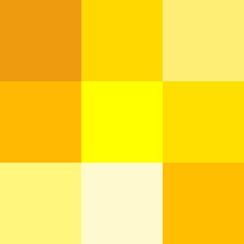 Painting Yellow Yellow