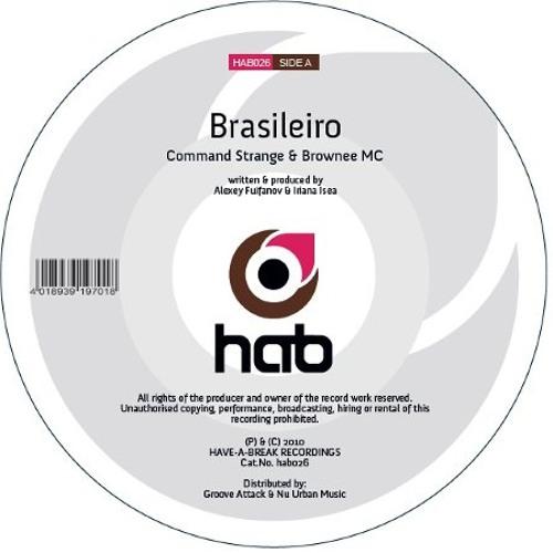 "Command Strange & Brownee MC - Brasileiro - Have-A-Break Recs 12"""