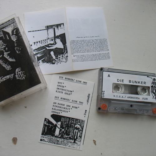 Die Bunker - Annake - First 1983 cassette version