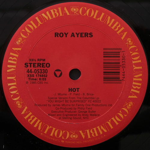 Roy Ayers - Hot (Beaten Space Probe Quick Cut Up)