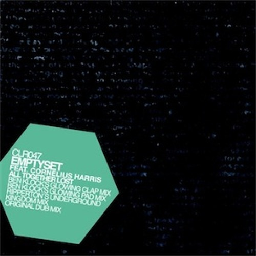 Emptyset feat. Cornelius Harris - 'Altogether lost' (Ripperton's underground kingdom mix) Promocut.