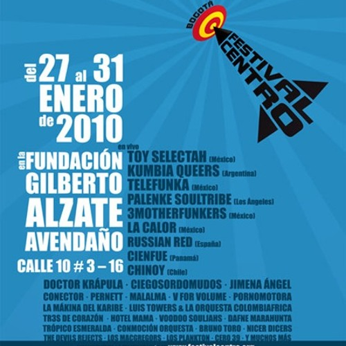 Zenit (en vivo, Bogotá 2010)
