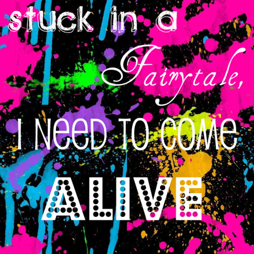 SINGLE TEASER #1 STUCK IN A FAIRYTALE, I NEED TO COME ALIVE