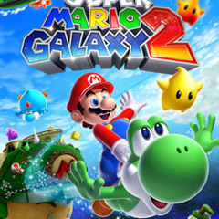 Super Mario Galaxy 2 - Sky Station Galaxy