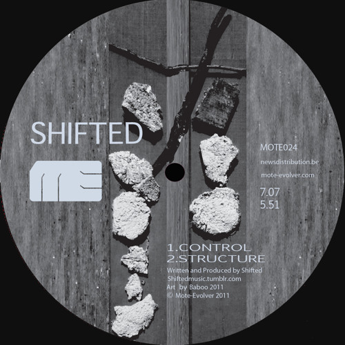 Mote024 :: Shifted - Control EP