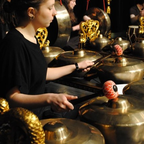 """Babalen,"" by/feat. Ade Suparman, performed by the Acadia Gamelan Ensemble"