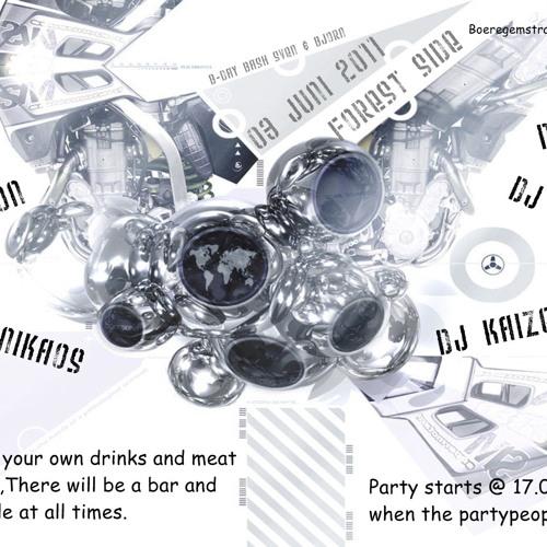 Dj potion @ forrest side party 2011