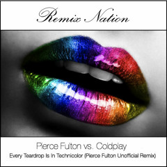 Pierce Fulton vs. Coldplay - Every Teardrop Is In Technicolor (Pierce Fulton Unofficial Remix)