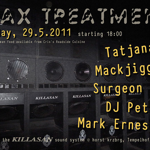 Surgeon - Wax Treatment, Berlin 29th May 2011