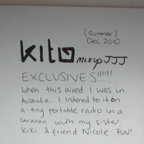 Kito - Triple J Mix Up Exclusives, Dec 2010