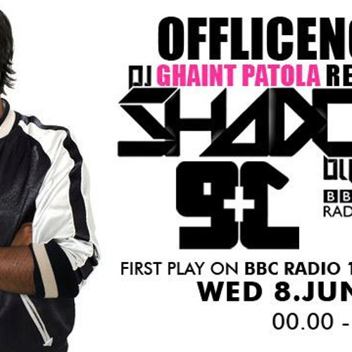 BBC Radio 1. Snippet (08.06.2011) - Ghaint Patola ( Plus 91 & Dj Shadow Remix )