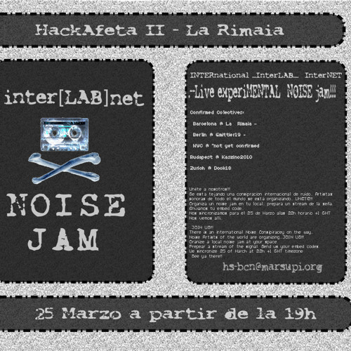 Pierce Warnecke & Christoph Limbach live @ Inter[lab]net noise jam 2011