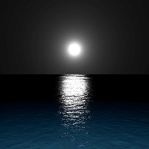 Night Ocean Surface