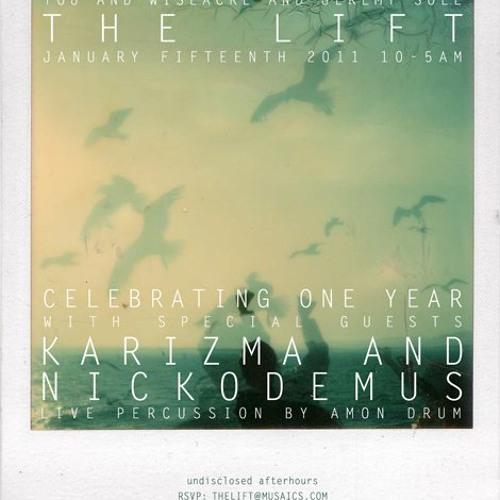 Nickodemus LIVE @ theLIFT / 1 year anniversary Jan. 2011