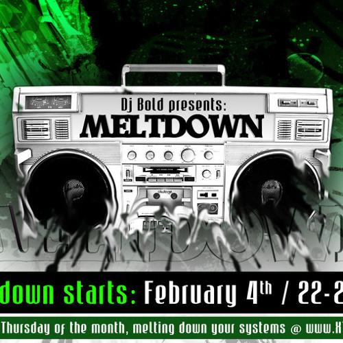 Deevits @ Meltdown Techno Radio (XT3-live show 2010-11-11)