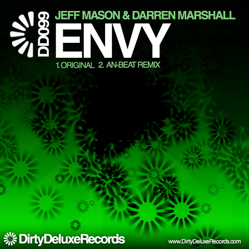 Jeff Mason & Darren Marshall - Envy (Original Mix) - available on Dirty Deluxe Records