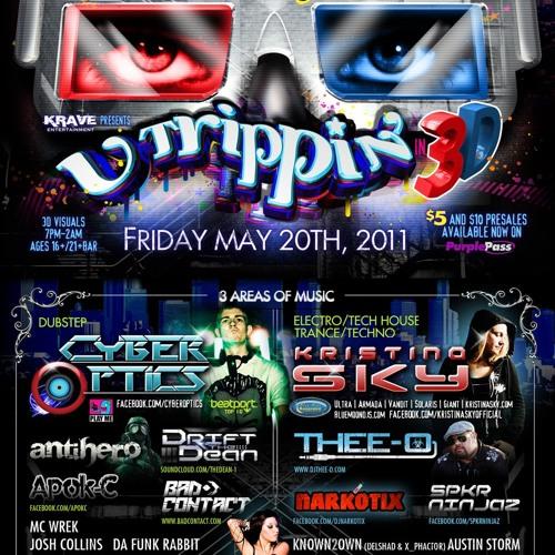 Kristina Sky Live @ U Trippin 3D (Los Angeles, Ca) [05-20-11]