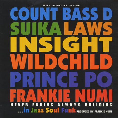 Frankie Numi Feat. Insight - Continue The Legacy