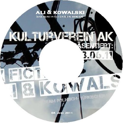 """Ali & Kowalski - """"Kulturverein AK"""" @ Klingel 3 (June 2011)"""