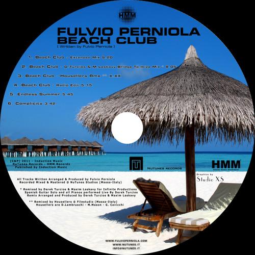 "DEREK TURCIOS AND MAXIM LASKAVY PRESENT ""BEACH CLUB"" BRIDGE TO IBIZA MIX (UNMASTERED SAMPLE)"