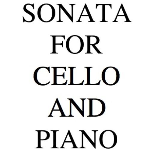 Sonata for Cello and Piano-MVT II