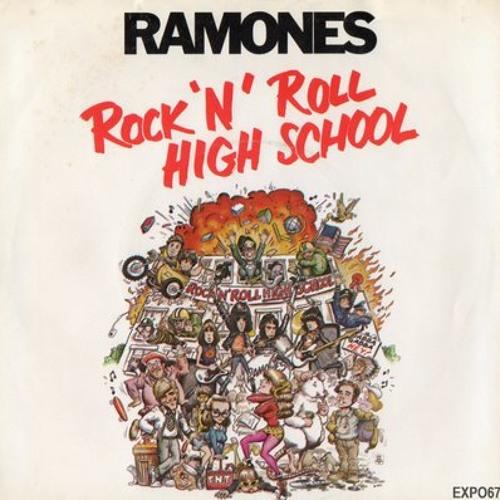The ramones - rock n roll high school (del piero edit)