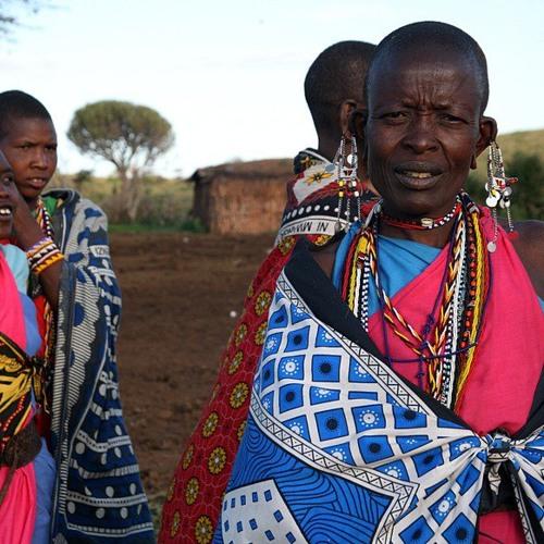Maasai tribal song - women