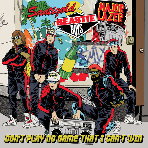 Beastie Boys - Don't Play No Game That I Can't Win (Feat. Santigold) (Major Lazer Remix)
