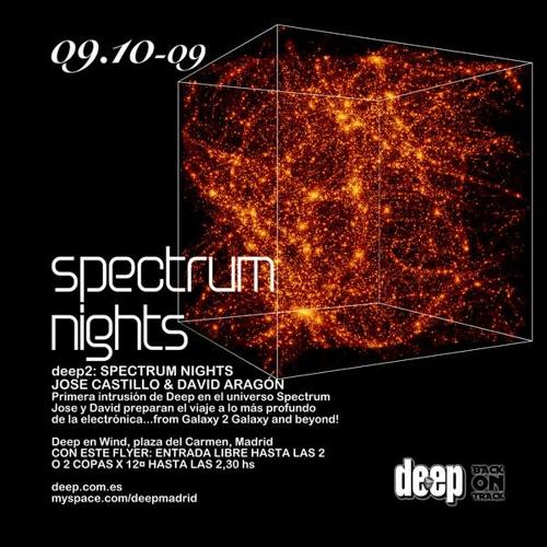 Spectrum Nights @ Deep club, October 2009