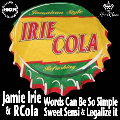 """Words Can Be So Simple"" ft. Jamie Irie (RCola remix)"