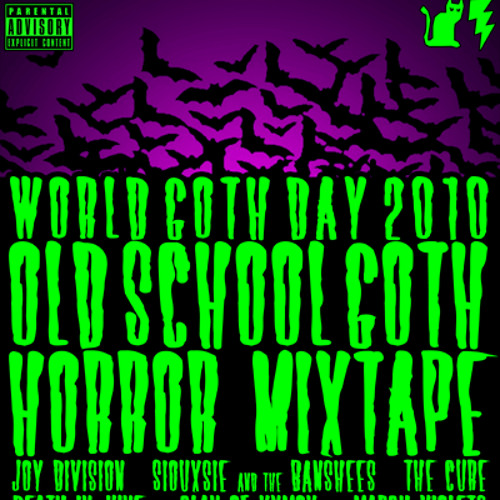 Kitty Lectro - Dark 80s World Goth Day 2010 Mix Tape