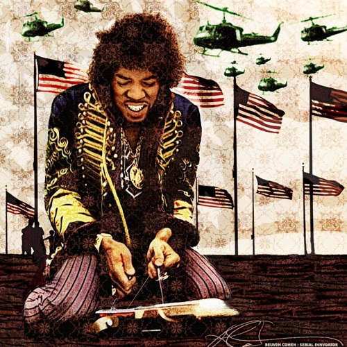 ODE to HENDRIX - drum +bass - ILS tribute - 1996