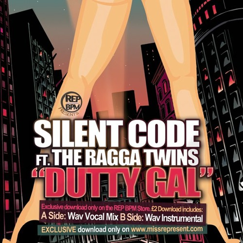 "Silent Code Ft Ragga Twins  - ""Dutty Gal""   - Original Mix -"