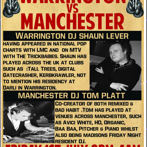 DJ SHAUN LEVER MADISONS NORTHWICH PROMO GUEST MIX FOR FRIDAY 1ST 2011