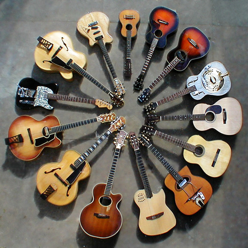 Acoustic Experimental Guitar