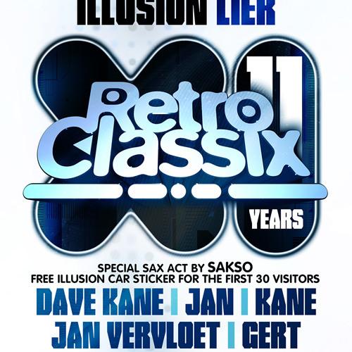 11 Years Retro Classix set 004 - DJ Jan Vervloet - Live sax by SAKSO